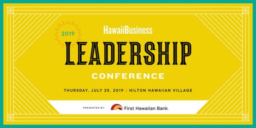 Hawaii Business Leadership Conference 2019