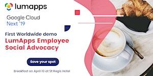 Breakfast LumApps: Social Advocacy Launch