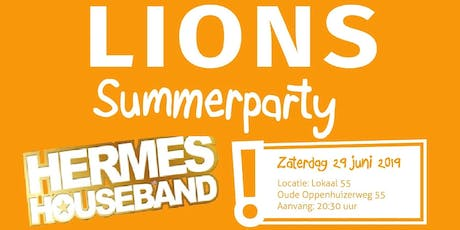 Lions Summerparty tickets