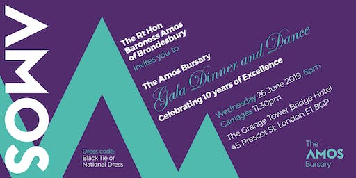 The Amos Bursary Celebrating ten years of Excellence