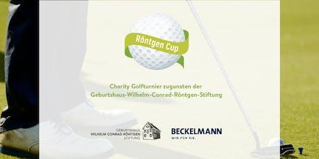 "Charity-Golfturnier ""Röntgen Cup 2019"" Tickets"