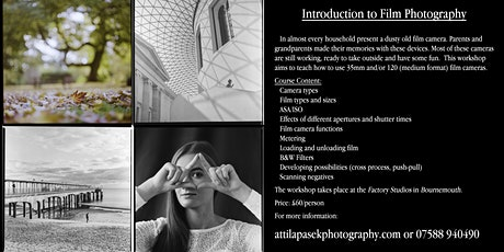 Introduction to film photography tickets