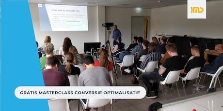 Masterclass Conversie Optimalisatie - haal jij genoeg omzet uit je website? tickets