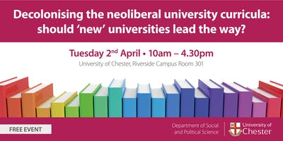 Decolonising the neoliberal university curricula in \