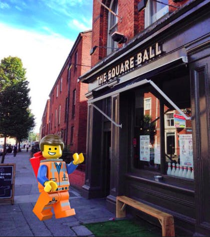 Beers & Blocks - Lego night at The Square Ball