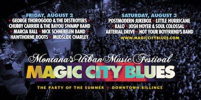 Magic City Blues - Montana's Urban Music Festival   2-Day Pass