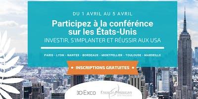 MARSEILLE • Conférences Novembre 2019 : S'implanter & Investir aux USA