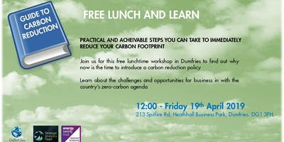 LUNCH & LEARN - Steps to reduce your carbon footprint