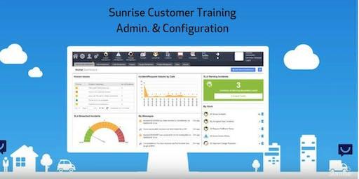 Sunrise Customer Training Admin. & Configuration 8-9 October 2019