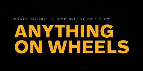 ANYTHING ON WHEELS | Power Day 2019 tickets