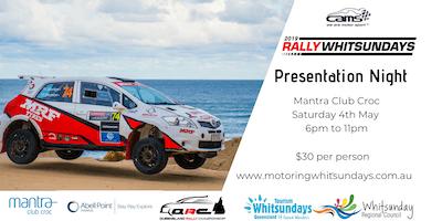 Rally Whitsundays Presentation Night