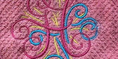 Custom Embroidery Hand-towel Workshop