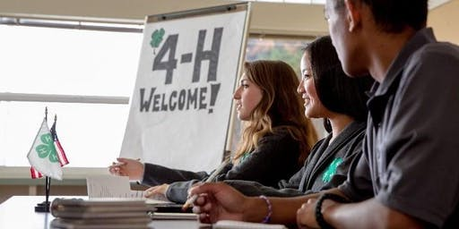 Discover 4-H - Saturday Afternoons or Tuesday Evenings