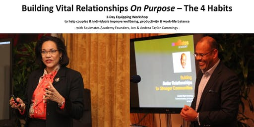 Building Vital Relationships On Purpose - The 4 Habits (1-Day Workshop)
