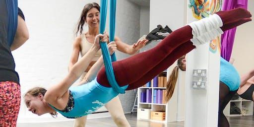 Aerial Yoga Strength Masterclass