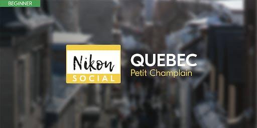 #nikonsocial | Petit Champlain - Quebec