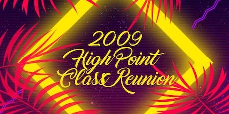 High Point Class of '09 Reunion tickets