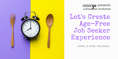 Workshop: Let's Create Age-Free Job Seeker Experience
