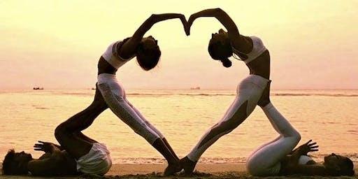 Partner Yoga with Nette & Gretchen