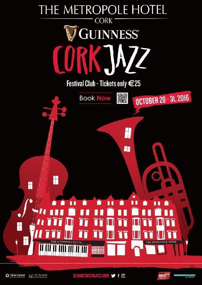 The Platinum Lounge at the Cork Jazz Festival