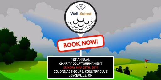 1st Annual Well Suited Charity Golf Tournament-DATE CHANGE to AUGUST 23
