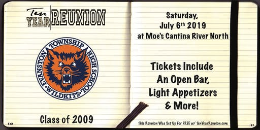 Evanston Class of 2009: Ten Year Reunion