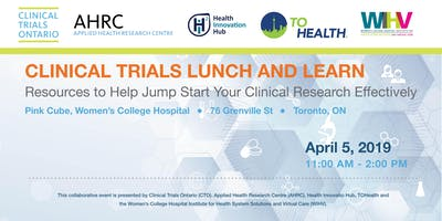Clinical trials lunch and learn: Resources to help you start your clinical research