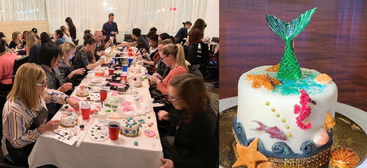 Snapcakes CAKE DECORATING WORKSHOP - Stunning
