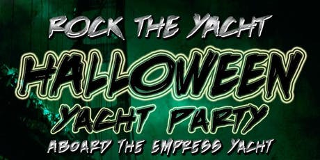 Rock the Yacht: Halloween Yacht Party Aboard the Empress Yacht tickets