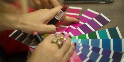 Analise de coloração pessoal - Promoção mês das mulheres