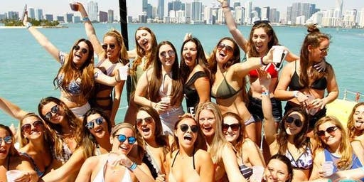MIAMI BOAT PARTY - HIP HOP MUSIC WITH 3 HOURS OPEN BAR !!!