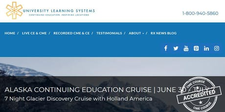 Alaska Continuing Education Cruise (ULS) tickets