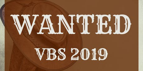 PVPC VBS 2019 WANTED tickets