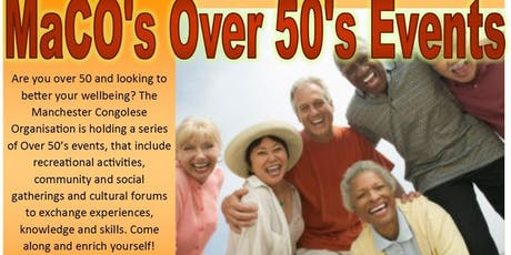 MaCO's Over 50's Events tickets