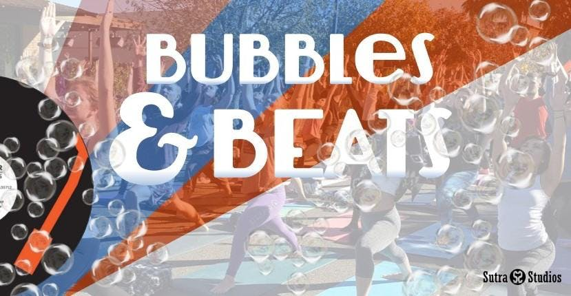Bubbles & Beats | Outdoor Yoga