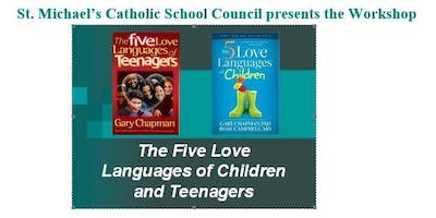"""WORKSHOP: \""""The Five Love Languages of Children and Teenagers\"""""""
