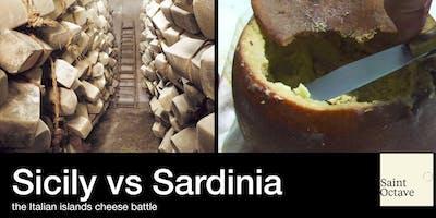 Sicily vs Sardinia-the Italian islands cheese battle