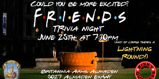 Friends Trivia Night!