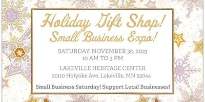 Holiday Gift Shop! Small Business Expo!