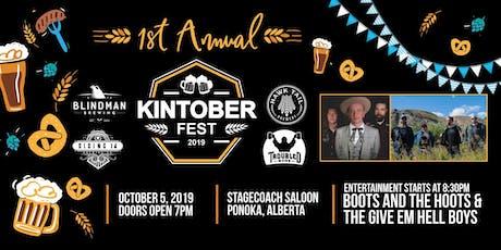 Kintoberfest tickets