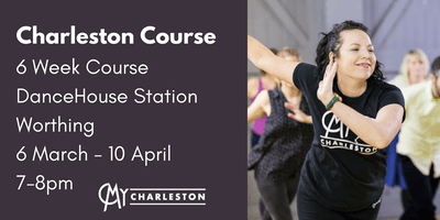6 Week Charleston Course at DanceHouse Studios, Worthing