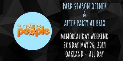 Sunshine People - Park Season Opener & After Party @ Brix