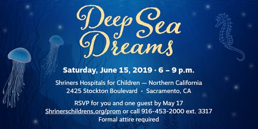 Shriners Hospital for Children -- Northern California 3rd Annual Prom- Deep Sea Dreams