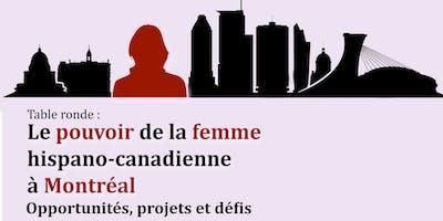 Le pouvoir de la femme  hispano-canadienne  à Montréal