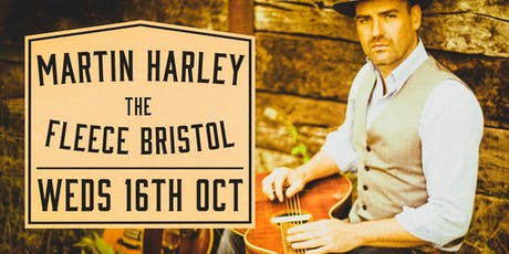 Martin Harley + Special Guest tickets