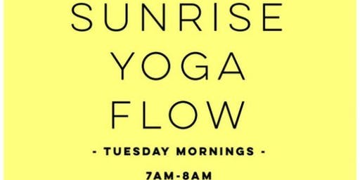 Sunrise Yoga Flow-East Bay Park!