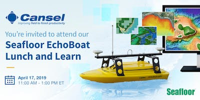 Seafloor EchoBoat Lunch and Learn