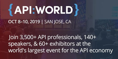 API World 2019 tickets