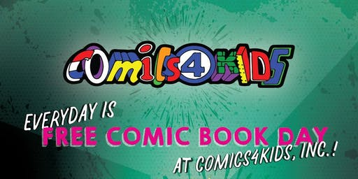 SHOP Comics4kids INC ANNUAL SIDEWALK SALE AUGUST 17 & 18 BROADWAY STREET WA ANTIQUE ROW 98401