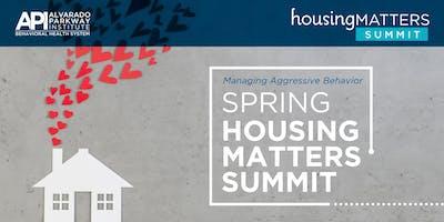 API's Spring Housing Matters Summit